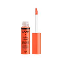 Блеск для губ NYX Professional Makeup Butter Gloss 10 (Цвет 10 Cherry Cheese Cake variant_hex_name FE6641)