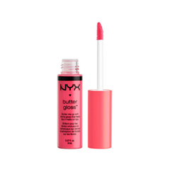 Блеск для губ NYX Professional Makeup Butter Gloss 18 (Цвет 18 Cupcake variant_hex_name FE547B)
