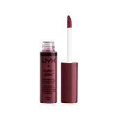 Блеск для губ NYX Professional Makeup Butter Gloss 22 (Цвет 22 Devils Food Cake variant_hex_name 8A344E)