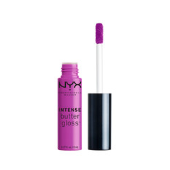 Блеск для губ NYX Professional Makeup Intense Butter Gloss 02 (Цвет 02 Berry Strudel variant_hex_name 8F429B)