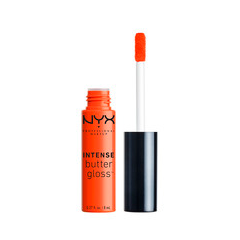 Блеск для губ NYX Professional Makeup Intense Butter Gloss 04 (Цвет 04 Orangesicle variant_hex_name F6420E) nyx professional makeup butter gloss 04 цвет 04 merengue variant hex name ed7aa6
