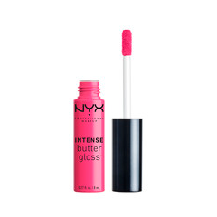 Блеск для губ NYX Professional Makeup Intense Butter Gloss 08 (Цвет 08 Funnel Delight variant_hex_name E54375)