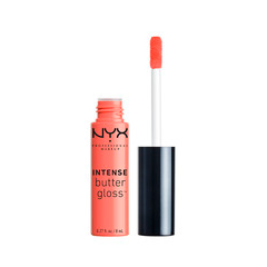 Блеск для губ NYX Professional Makeup Intense Butter Gloss 09 (Цвет 09 Sorbet variant_hex_name FF7B70)