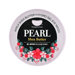 Патчи для глаз Koelf Hydro Gel Pearl  Shea Butter Eye Patch (Объем 180 г)