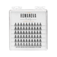 Накладные ресницы Romanova MakeUp Пучки F-Medium Mini