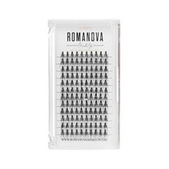 Накладные ресницы Romanova MakeUp Пучки M-Long 12 мм