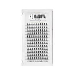 Накладные ресницы Romanova MakeUp Пучки M-Mix