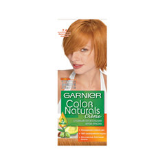 Краска для волос Garnier Color Naturals 7.4 (Цвет 7.4 Золотистый медный)