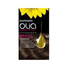 Краска для волос Garnier OLIA 4.0 (Цвет 4.0 Шатен variant_hex_name 4C3C34)