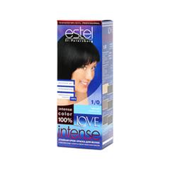 Краска для волос Estel Professional Love Intense 1/0 (Цвет 1/0 Черный variant_hex_name 000000)