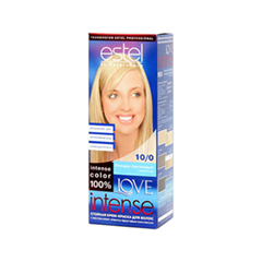 Краска для волос Estel Professional Love Intense 10/0 (Цвет 10/0 Блондин платиновый variant_hex_name F1CEAE)