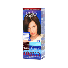 Краска для волос Estel Professional Love Intense 6/4 (Цвет 6/4 Каштан variant_hex_name 4E3227)