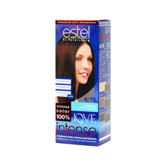 Краска для волос Estel Professional Love Intense 6/75 (Цвет 6/75 Палисандр variant_hex_name 673C2C)