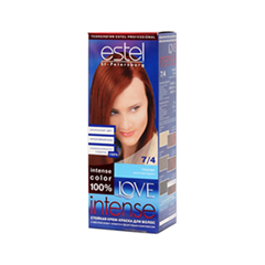 Краска для волос Estel Professional Love Intense 7/4 (Цвет 7/4 Тициан variant_hex_name 5F1F1D)
