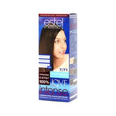 Краска для волос Estel Professional Love Intense 7/71 (Цвет 7/71 Коричневый перламутр variant_hex_name 553B2A)