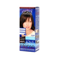 Краска для волос Estel Professional Love Intense 7/7 (Цвет 7/7 Лесной орех variant_hex_name 684438)