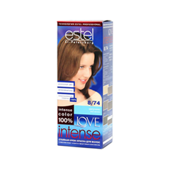 Краска для волос Estel Professional Love Intense 8/74 (Цвет 8/74 Капучино variant_hex_name 946547)