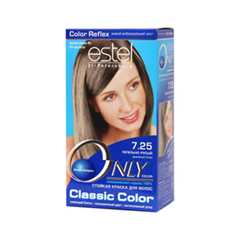 Краска для волос Estel Professional Only Color 7.25 (Цвет 7.25 Пепельно-русый variant_hex_name CBB19A)