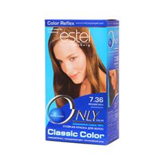 Краска для волос Estel Professional Only Color 7.36 (Цвет 7.36 Лесной орех variant_hex_name 1B0700)