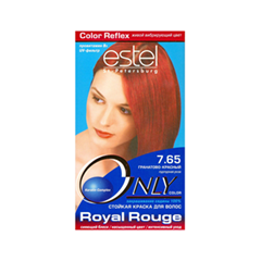 Краска для волос Estel Professional Only Color 7.65 (Цвет 7.65 Гранатово-красный variant_hex_name 8E1922)