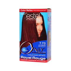 Краска для волос Estel Professional Only Color 7.73 (Цвет 7.73 Бургундский variant_hex_name 280919)