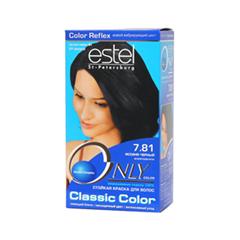 Краска для волос Estel Professional Only Color 7.81 (Цвет  7.81 Иссиня-черный variant_hex_name 17171F)