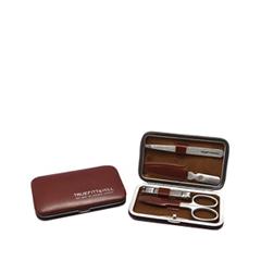 Инструменты для маникюра и педикюра TruefittHill Набор Burlington 4 Piece Tan (Цвет Tan variant_hex_name A03E21)