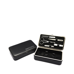 Инструменты для маникюра и педикюра TruefittHill Набор Burlington Travel Box Black (Цвет Black variant_hex_name 141416)