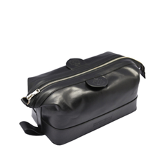 Косметички Truefitt&Hill Gentleman`s Wash Bag Black (Цвет Black variant_hex_name 131217)
