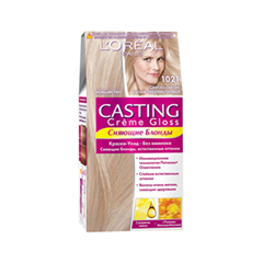 Краска для волос L'Oreal Paris Casting Creme Gloss 1021 (Цвет 1021 Cветло-светло-русый перламутровый variant_hex_name B18F76)