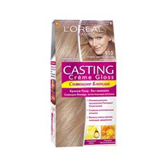 Краска для волос L'Oreal Paris Casting Creme Gloss 910 (Цвет 910 Oчень светло-русый пепельный variant_hex_name D3BAA4)