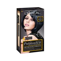 Краска для волос LOreal Paris Preference 1.0 (Цвет 1.0 Неаполь Черный variant_hex_name 393943)