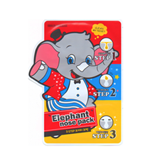 Патчи для носа Baviphat Urban Dollkiss 3-Step Elephant Nose Pack (Объем 3 мл) выравнивающий вв крем baviphat urban dollkiss pore blur bb