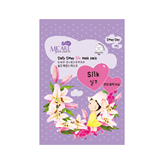 Тканевая маска Mj Care Daily Dewy Silk Mask Pack (Объем 25 г)