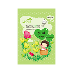 �������� ����� Mj Care Daily Dewy Snail Mask Pack (����� 25 �)