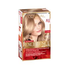 Краска для волос LOreal Paris Excellence 8.12 (Цвет 8.12 Мистический variant_hex_name E8C4A6)