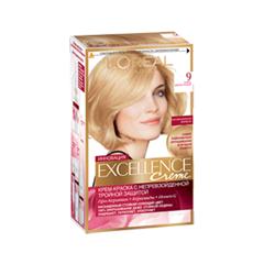 Краска для волос L'Oreal Paris Excellence 9 (Цвет 9 Очень светло-русый variant_hex_name E6CAA6)