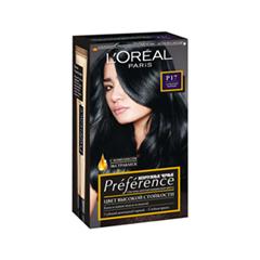 Краска для волос L'Oreal Paris Pr?f?rence Р17 (Цвет Р17 Глубокий чёрный)