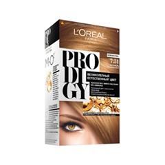 Краска для волос L'Oreal Paris Prodigy 7.31 (Цвет 7.31 Карамель variant_hex_name 6E3F2A)