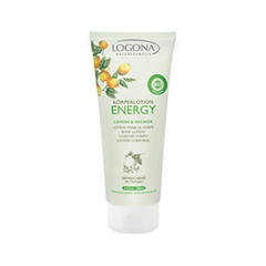 Лосьон для тела Logona Energy Body Lotion Lemon  Ginger (Объем 200 мл)