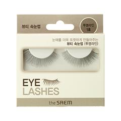 Накладные ресницы The Saem Eyelash Clear Line 1 (Цвет 01 variant_hex_name 000000)