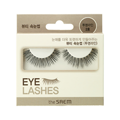 Накладные ресницы The Saem Eyelash Clear Line 2 (Цвет 02 variant_hex_name 000000)