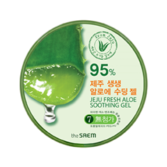 Гель The Saem Jeju Fresh Aloe Soothing Gel 95% (Объем 300 мл)