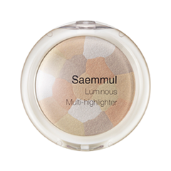 Хайлайтер The Saem Saemmul Luminous Multi-Highlighter 02 (Цвет 02 Gold Beige variant_hex_name D6BEAB) the saem saemmul a c control bb spf30 бб крем для проблемной кожи 15 мл