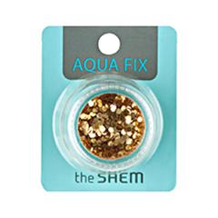 Дизайн ногтей The Saem Украшения для ногтей Aqua Fix Twinkle Fish 06 (Цвет 06 Golden Barb variant_hex_name 855F20)