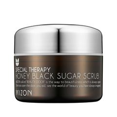 Скраб Mizon Honey Black Sugar Scrub (Объем 80 г)