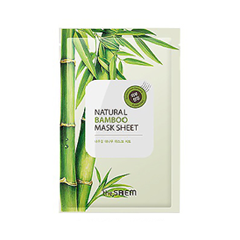 Тканевая маска The Saem Natural Bamboo Mask Sheet (Объем 21 мл) the saem natural gold kiwi mask sheet объем 21 мл