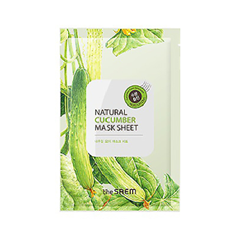 Тканевая маска The Saem Natural Cucumber Mask Sheet (Объем 21 мл) the saem pure natural mask sheet donky milk
