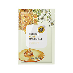 Тканевая маска The Saem Natural Honey Mask Sheet (Объем 21 мл) the saem natural gold kiwi mask sheet объем 21 мл