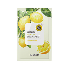 Тканевая маска The Saem Natural Lemon Mask Sheet (Объем 21 мл)